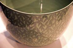 Close-up of ceramics, Icheon, South Korea