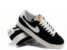 Nike Blazer pour Homme Low Premium Vintage Suede Noir Blanc Nike Blazer Homme Bleu