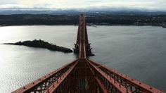 A spectacular view from the top of the Forth Bridge taken by Campbell Stewart from East Kilbride.