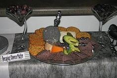 Decaying Cheese Platter
