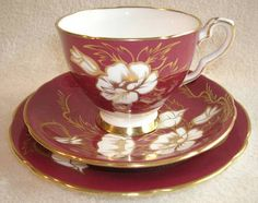 Browse our great selection of Royal Stafford dinnerware and dining collections. Cup And Saucer Set, Tea Cup Saucer, Tea Cups, Floral Vintage, Tea Sets Vintage, China Cups And Saucers, Teapots And Cups, Royal Stafford, Antique China