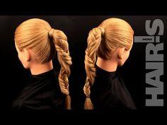 Заплетаем косу «Жгут» - видеоурок (мастер-класс) Hair's How - YouTube