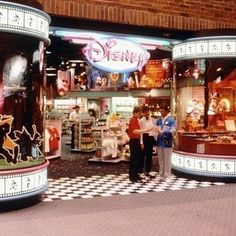 The excitement of walking into your mall's Disney Store and rushing to the back to see what was playing on the big screen. | 28 Things All '90s Kids Who Grew Up On Disney Will Relate To