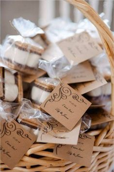 smores wedding favors wedding favors Have Some Fun With Your Table Numbers Winter Wedding Favors, Rustic Wedding Favors, Beach Wedding Favors, Cool Wedding Cakes, Unique Wedding Favors, Nautical Wedding, Wedding Cake Toppers, Wedding Ideas, Rustic Weddings