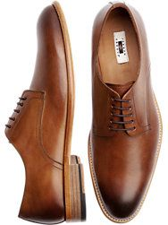 Joseph Abboud Baywood Brown Lace Up Dress Shoes Image
