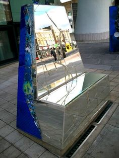 Sculpture outside Mary Seacole Centre in Clapham High St London