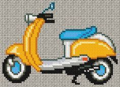 free cross stitch patterns (not in English but doable I think) Modern Cross Stitch, Cross Stitch Charts, Cross Stitch Patterns, Embroidery Applique, Cross Stitch Embroidery, Stitch Witchery, Beading Tools, Crochet Cross, Perler Patterns