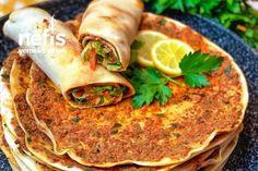 Ev Yapımı Lahmacun – Nefis Yemek Tarifleri Turkish Recipes, Ethnic Recipes, Pastry Recipes, Iftar, Food Art, Food And Drink, Diet, Cooking, Recipes