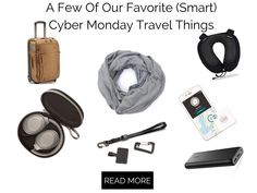 Here are a few of our favorite travel-friendly Cyber Deals things that will make your traveling easier. Travel with smart and tech accessories. Noise Cancelling Headphones, Bluetooth Headphones, Alexa Voice, Cyber Monday Sales, Travel Things, Rss Feed, Portable Charger, Ipad Air 2, Carry On Luggage