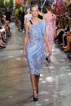 Défilé Christian Dior, prêt-à-porter printemps-été 2014, Paris. #PFW #fashionweek #runway