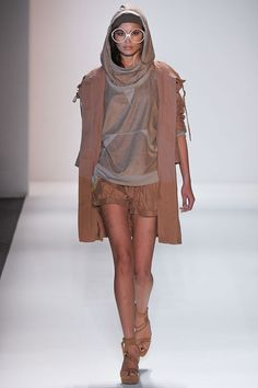 I would wear the crap out of that hoodie.  Nicholas K Spring 2013 RTW