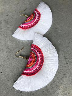 Tassel Earrings boho jewelry