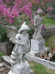 The Graveyard Detective: Two Little Angels mark Terrible Tragedy