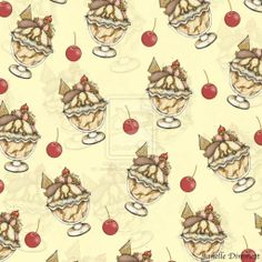 Ice Cream Sundae #2 by Janelle-Dimmett.deviantart.com on @deviantART