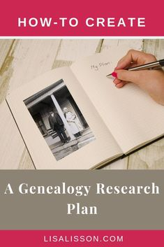 Wondering how to get started researching your ancestors? Start with a great genealogy research plan!  You will be more efficient and successful finding you ancestors. #genealogy #ancestors #familyhistory