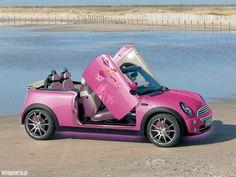 Pink Panther Mini Coop!
