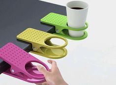 Clip On Table Cup Holders. $10.81