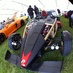 Ariel Atom. Go kart with a Fireblade engine. Crazy.