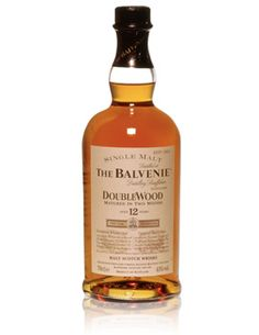 Balvenie DoubleWood Scotch - Sweet and vanilla scotch with gentle peat in the background.  Aged in bourbon casks and finished in sherry casks.  Great price to performance.