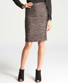A: Like the texture and colors of this skirt (ignore the boots)