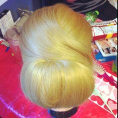 #highvoltagehair #paulmitchell #updo #braids #bridal #fashion #wedding #hair ...Dude, that is FREAKIN' gorgeous. Wow. Wow.