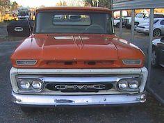 1962 GMC V-6  1962 GMC gmc truck pickup antique survivor restoration project V-6 hercules