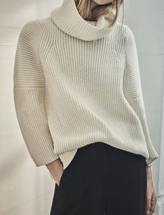 a2a9ca699a1 Nail this season s biggest knitwear trend with the roll neck Roll Neck