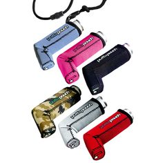 Your inhaler's naked without one! A fun, stylish and lightweight product designed to help you carry your inhaler easily and above all proudly. With a choice of black, silver, pink, red, powder blue or camoflage there's a style to suit everyone.
