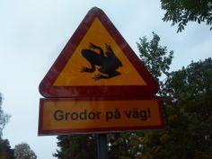 Varning Frogs