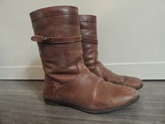 Clothes & Dreams: These boots are made for walking (shoplog): Brown River Woods boots