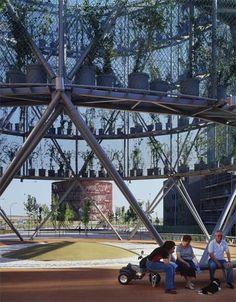 AR Awards for Emerging Architecture - winners - Dezeen Ecosistema Urbano Arquitectos' EcoBoulevard of Vallecas, Madrid, Spain