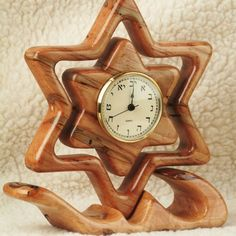 Custom Made Star Of David Clock