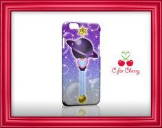 Sailor Saturne baguette 3D enveloppé coque iPhone 7 plus de