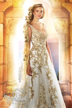 RAPUNZEL The Stunning New 2016 Disney by Alfred Angelo collection has just arrived at The Boutique. The Disney Fairy Tale Wedding dresses reflect the style and sensibility of Disney's iconic Princesses! To book an appointment call 02086164346 Rapunzel Wedding Dress, Disney Wedding Dresses, Formal Dresses For Weddings, Wedding Dress Sizes, Disney Dresses, Bridal Dresses, Wedding Gowns, Wedding Disney, Wedding Shoes