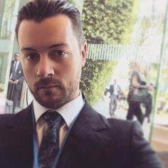 equion:  dgfeuerriegel In honor of getting to meet astronauts soon at @milkeninstitute Global Conference .. Here is a suit selfie  #miglobal #powerofideas