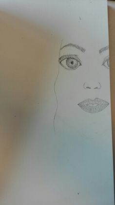 Les 3. Ik ben aan het schetsen in mijn dummie om te kijken hoe het eruit gaat zien en of het is hoe ik wil.