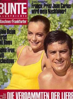 Romy Schneider - Bunte Magazine [Germany] (11 September 1968)