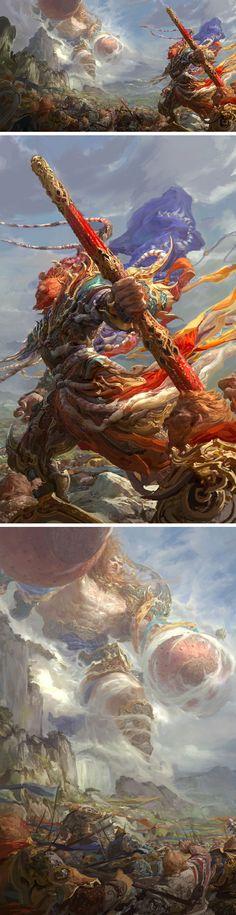 The First World War by Fenghua Zhong