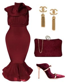 """Untitled #572"" by mchlap on Polyvore featuring Malone Souliers"
