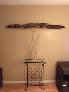 Decorative Driftwood Wall Hanging / Shelf on Etsy, $49.00