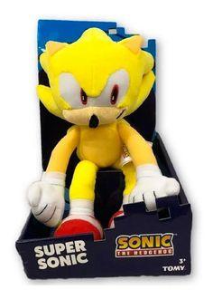 Pelúcia Tomy Sonic Collector Plush Toy - Super Sonic | Mercado Livre
