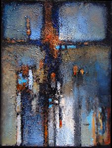 """Symbol of Hope by Christopher Westfall Acrylic ~ 18"""" x 14"""""""