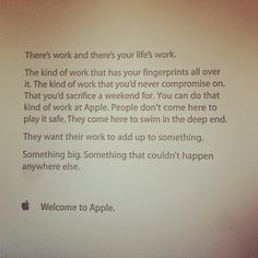 Are you already excited by the start of a new workweek? Probably not, for those that want to work at Apple this isn't a problem because they are motivated by the company to start their first day as good as possible. In a memo that is sent to every new Apple employee they are told [...]