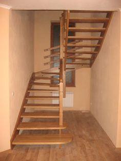 Изделия из Дерева: Деревянные Лестницы из Бука