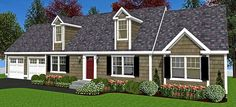 Do you know Modular? We do! The Chatham is a Modular New England Cape Style house. Click to see plan.