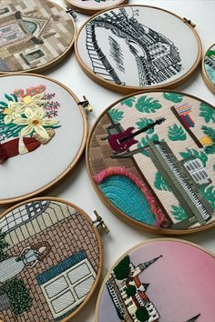 FaimyxStitch - architectural hand embroidery patterns by FaimyCrossStitch Modern Embroidery, Hand Embroidery Patterns, Coin Purse, Etsy Seller, Unique Jewelry, Handmade Gifts, Kid Craft Gifts, Hand Made Gifts, Craft Gifts
