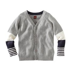 So cute! A great sweater for cool evenings in Puerto Rico or at home. #TeaCollection.