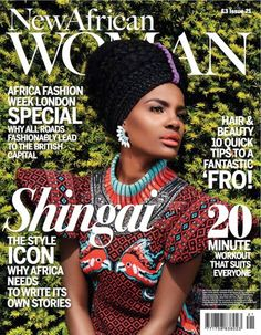 StyShingai Shoniwa covers New African Woman Magazine