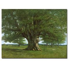 """Found it at Wayfair - """"The Oak of Flagey"""" by Gustave Courbet Painting Print on Canvas http://www.wayfair.com/daily-sales/p/Wall-Art-Clearance-%22The-Oak-of-Flagey%22-by-Gustave-Courbet-Painting-Print-on-Canvas~TMAR4220~E16528.html?refid=SBP.rBAjD1S7Mxa-q24nZp-hAm5DbJEBFExptjvW67sw5vk"""
