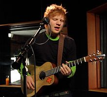 "Ed Sheeran  Ed sheran is an English singer-songwriter. He immulates Elton John and Jamie Foxx. His genre is pop, folk, Grime, Hip Hop. He plays guitar and piano. One of my favorite songs by him is ""gimme love"" its an awesome song it explains how love can be between anyone black or white, boy or girl, or same sex relationships."